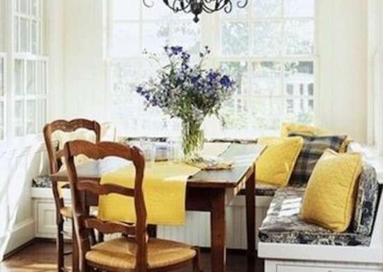 Alcove kitchen banquette traditionalhome