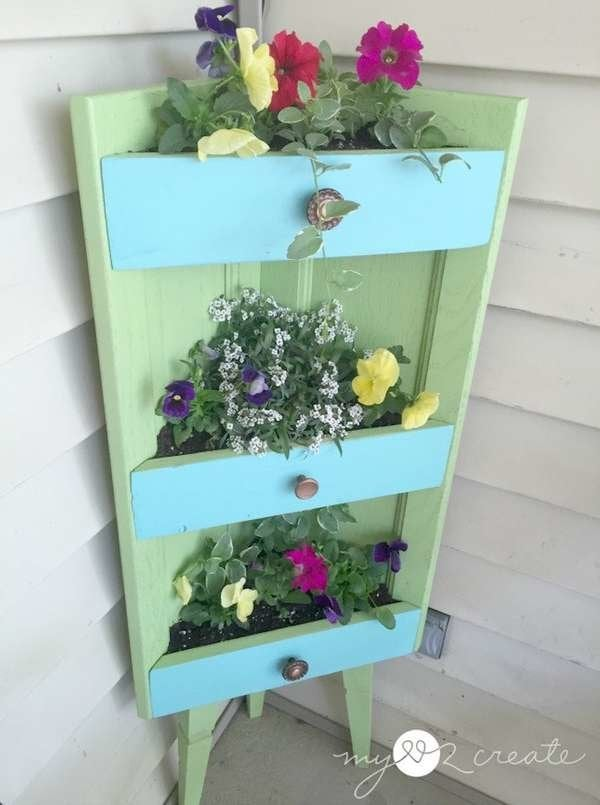 Corner Shelf Planter