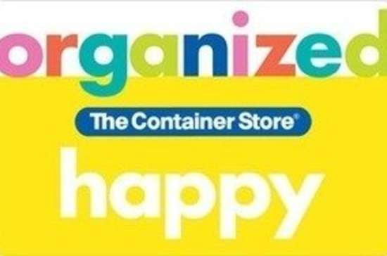Container store gift card organziation bob vila gifts