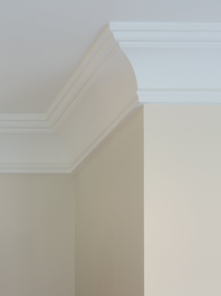 Also Known As Coving Cove Molding Is Plain Concave Shaped Trim Employed Where Walls And Ceilings Meet It Can Be Used On Stairs At The Meeting Of
