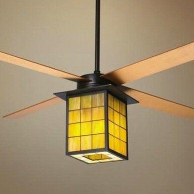 Library ceiling fan