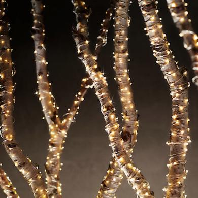 Starry string lights amber restorationhardware