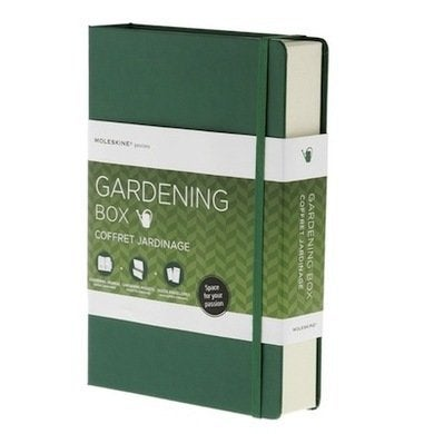 Moleskin gardeningbox journal amazon