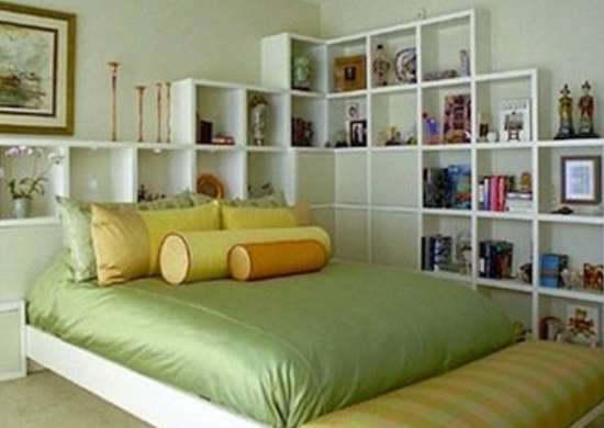 Bookcase Headboard Diy Headboard Ideas 16 Projects To