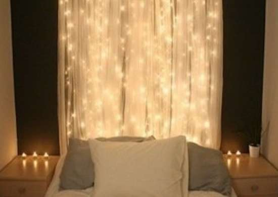 String Lights Headboard Diy : Headboard Lights - DIY Headboard Ideas - 9 Projects to Make Yourself - Bob Vila