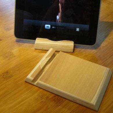 Diy Tablet Stand 10 Cheap And Clever Ideas Bob Vila