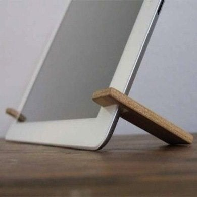 diy tablet stand 10 cheap and clever ideas bob vila. Black Bedroom Furniture Sets. Home Design Ideas