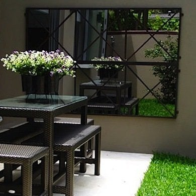 Outdoor mirror   mirror decor ideas   practical and stylish tips ...