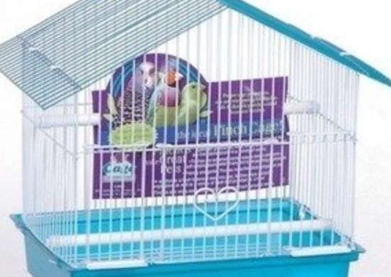 Birdcages.com advantage peak style roof bird cage bob vila pet gifts
