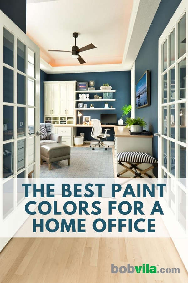 Best Paint Colors For A Home Office Bob Vila
