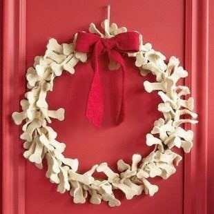 Sundance doggone dogbone wreath bob vila pet gifts