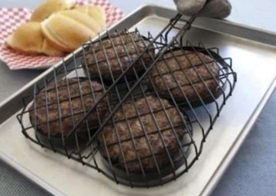 Grillgadgets hamburgerbasket target