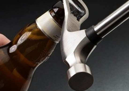 Beer hammer bottle opener afowo