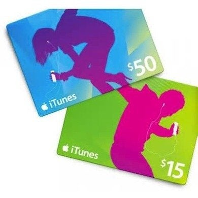 Appple itunes gift cards