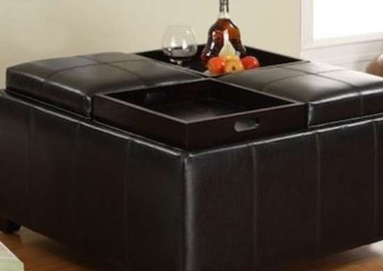 12 Best Storage Ottomans To Clear Clutter With Style