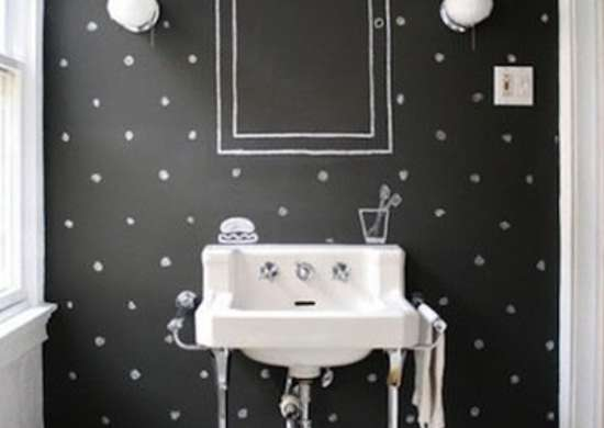 Chalkboard-paint-bathroom