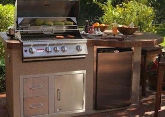 An Entire Outdoor Kitchen