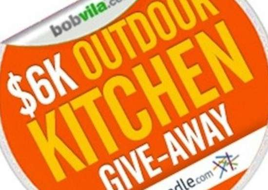 Bob vila 39 s 6k outdoor kitchen give away for Enter now to win