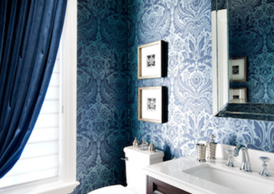 Bathroom trends wallpaper