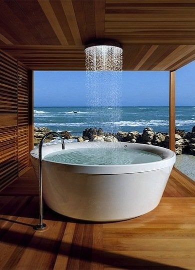 Bathroom trends tub