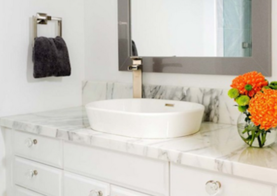 Bathroom trends marble