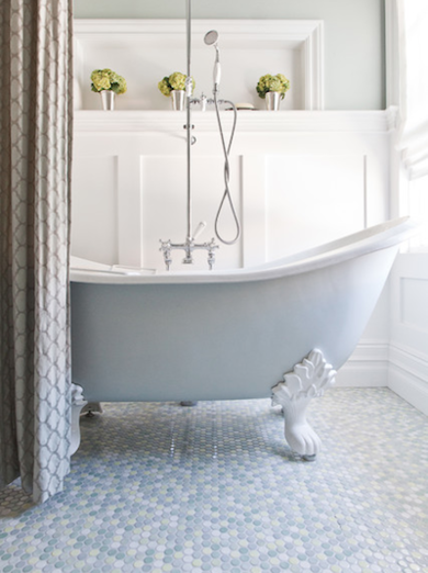 Bathroom trends mosaic tile