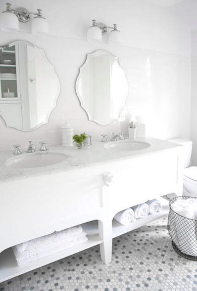 Bathroom trends white
