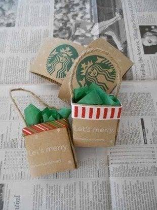 Labworks360 Starbucks Christmas Mini Ping Bag Ornament Bob Vila