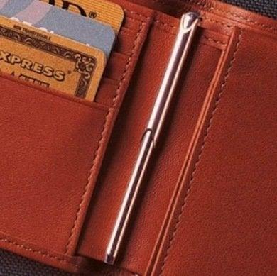 Wallet pen
