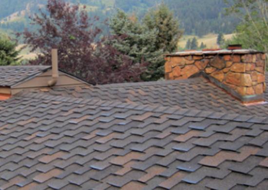 Asphalt shingles roofco