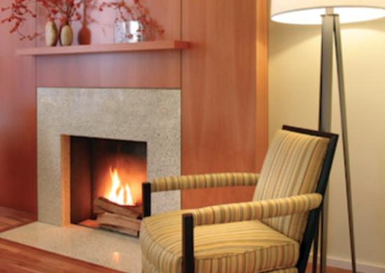 Gleicherdesigngroup greentownhouse fireplace