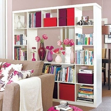 Bookcase room divider customclosetsdirect