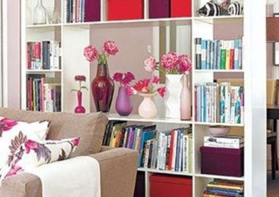 Bookcase Room Divider. Bookcase Room Divider   Ideas for Small Spaces   Live Large in 400