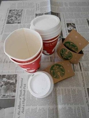 Labworks360 starbucks christmas ornaments cups lids sleeves bob vila