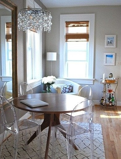 Acrylic dining chairs decoist