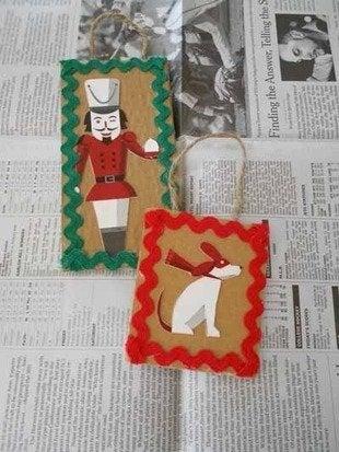 Labworks360 starbucks christmas ornament silhouettes cardboard bob vila