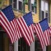 American Flag Houses