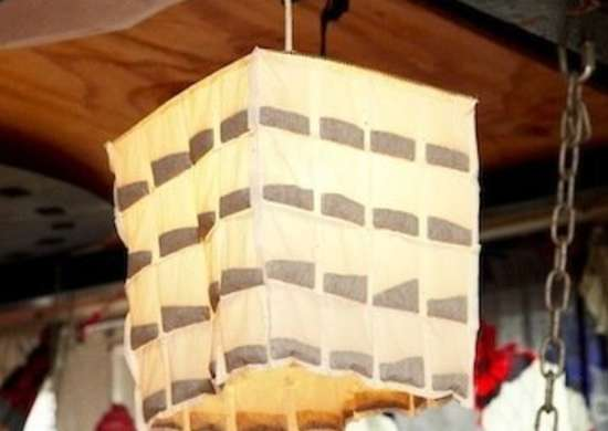 Tea Bag Lampshade