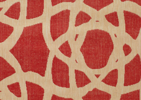 Red bolinas outdoorrug worldmarket