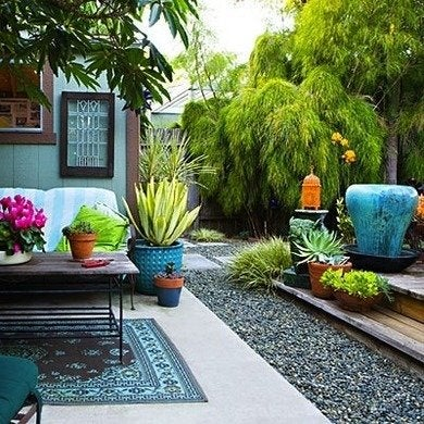 Chic backyard outdoor living area turidutentresko blogspot
