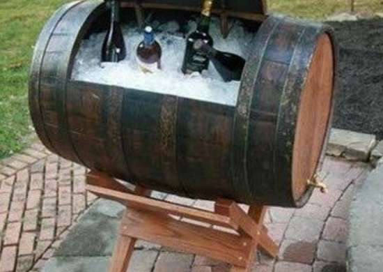 Wine Barrel Cooler