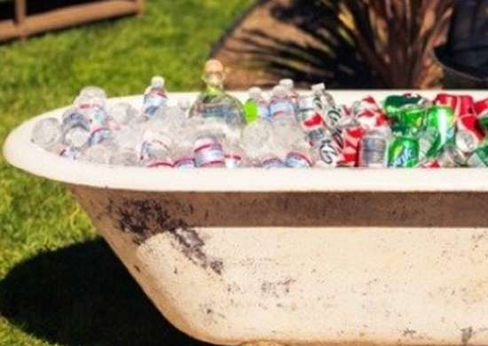 Bathtub Cooler