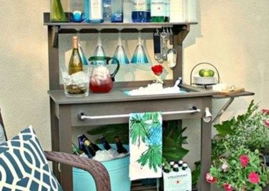 Potting bench outdoor bar thecreativityexchange