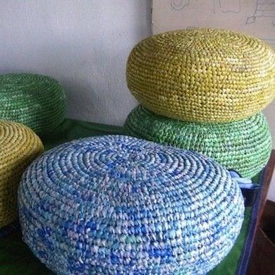 Recycledbagcushion