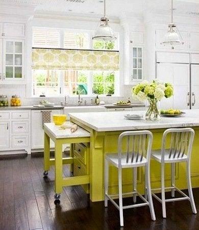 Colorful kitchen islands ideasdecor
