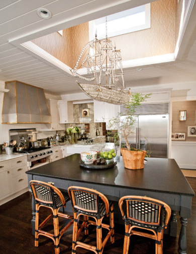Chandelier kitchen