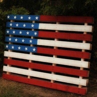 Flagpallet