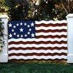 Patriotic Fence