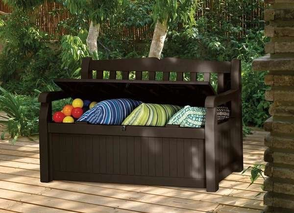 Outdoor Storage Solutions - 22 Picks for Your Deck, Porch