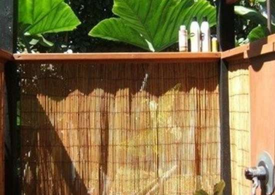 Bamboo Shower